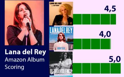 Lana del Rey: Su discografía valorada en Amazon